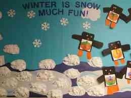 Our preschoolers are snow much fun!