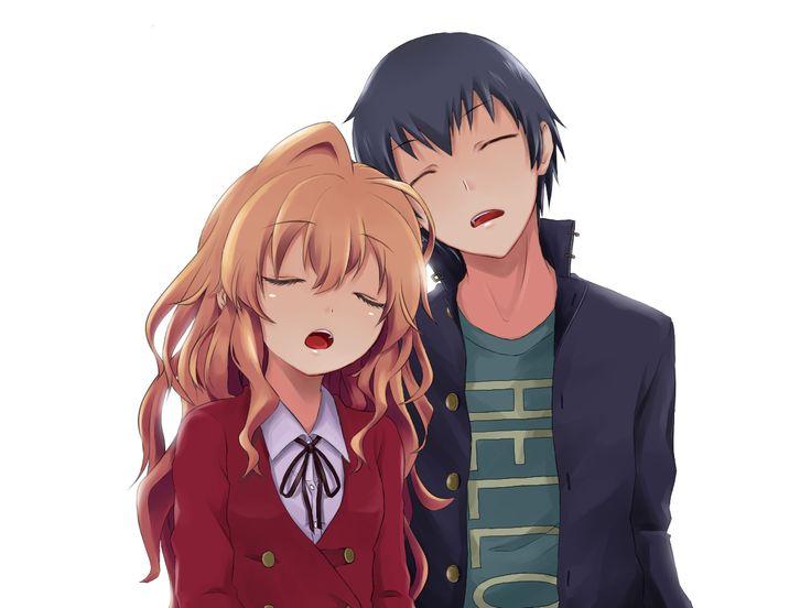 Taiga and Ryuugi - Toradora #anime