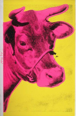 "Andy Warhol, ""Cow"", 1966"