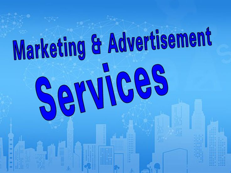 #Marketing #Advertisement #Services