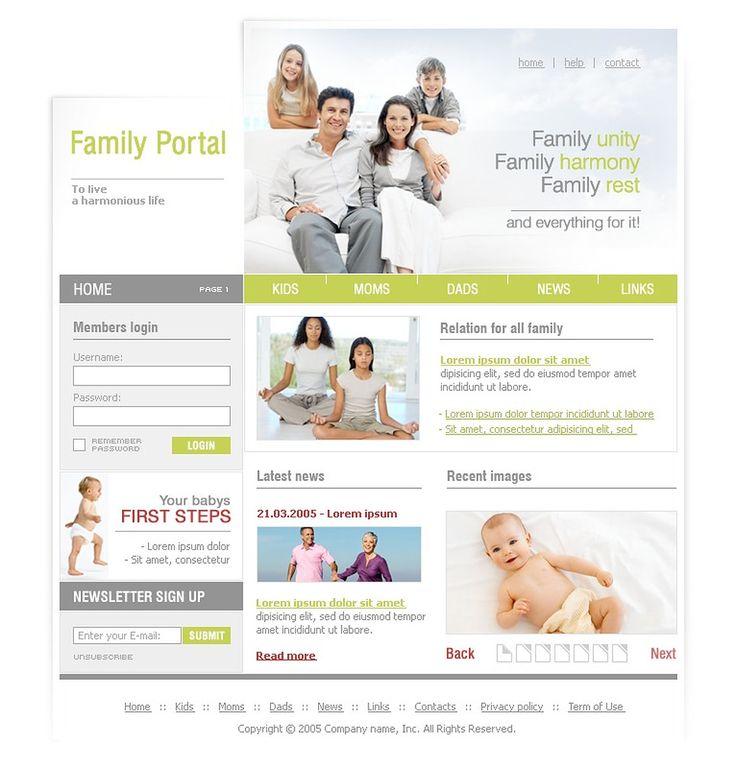 Portal Family SWiSH Templates by Monet