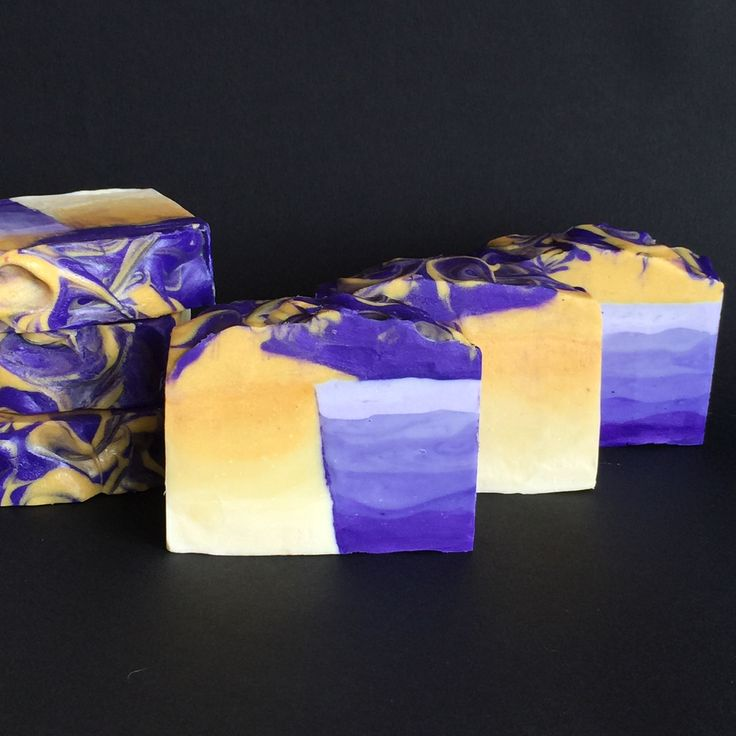 Embracing Opposites. Renaissance Soaps.  Chaos and Calm. Dark to Light. Yellow and Purple. Midnight and Mid-day.