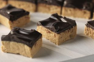 No-Oven Peanut Butter Squares