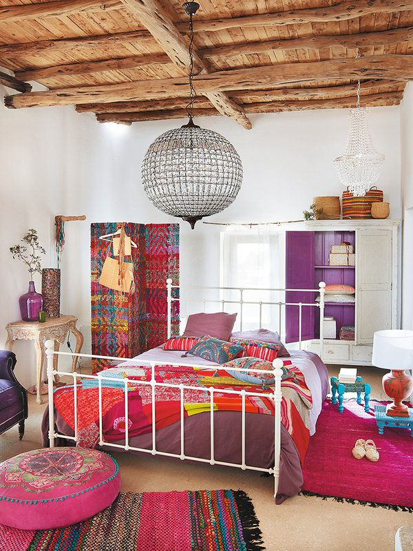 M s de 25 ideas incre bles sobre dormitorios hippies en pinterest decoraci n de habitaci n - Decoracion estilo hippie chic ...