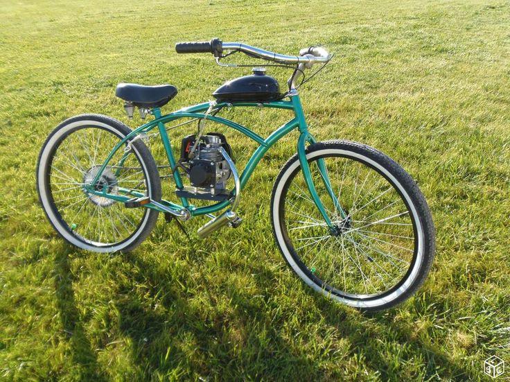 Vélo Beach Cruiser modifié
