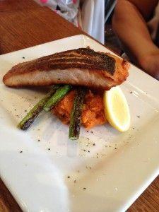 Salmon and Sweet Potato Mash, The Deck Brighton