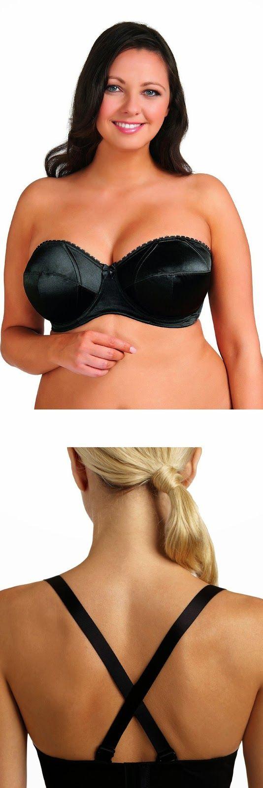 12 best plus size strapless bras images on Pinterest ...