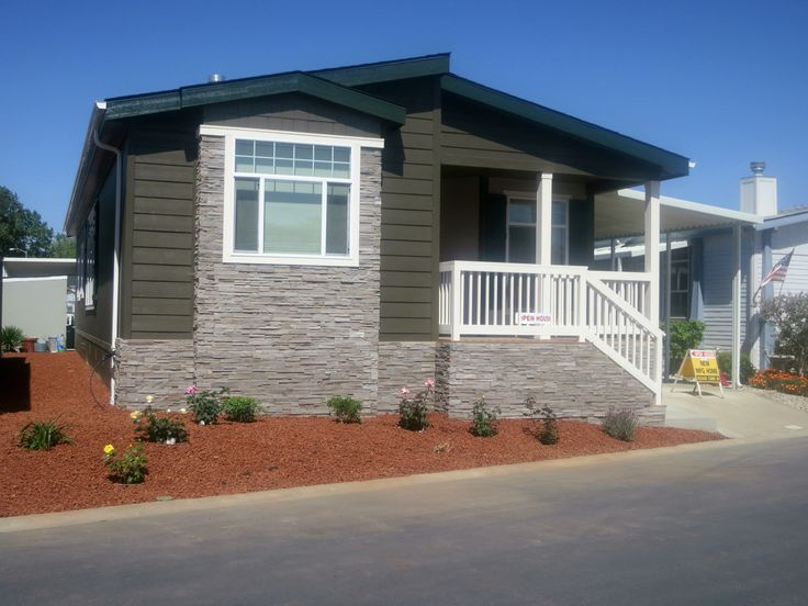 Types of Mobile Home Siding | As you will notice, exteriors can vary greatly. There are many choices ...