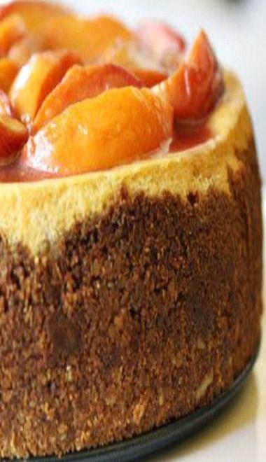 Savannah Peach Cheesecake!!