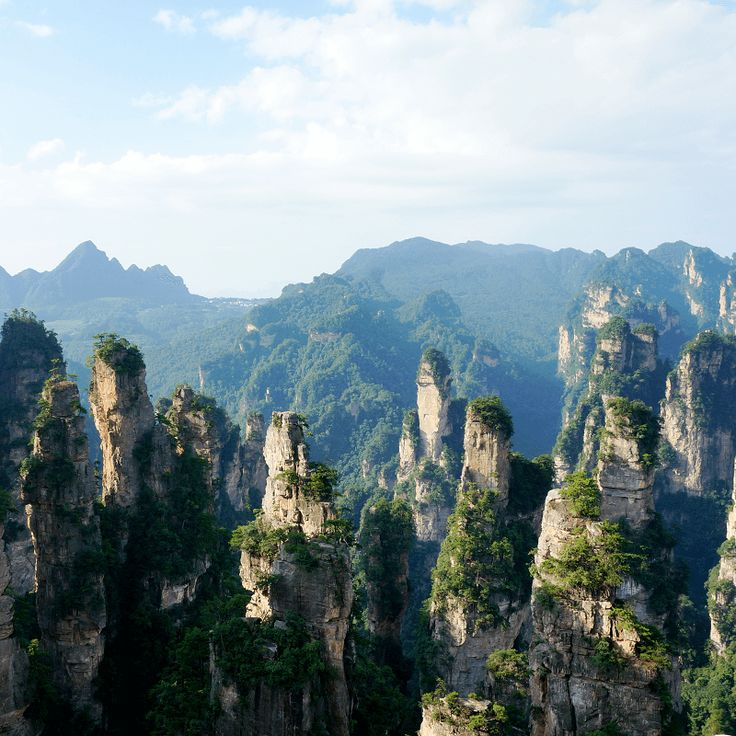 Monts Tian - Chine
