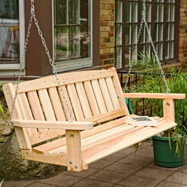 Porch Swing on Wooden Porch Swings Great American Woodies Cypress Mission Porch  Swing - 170 Best Wooden Swings Images On Pinterest Wooden Swings, Wood
