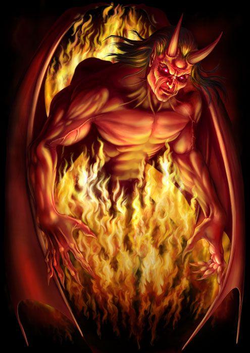 Satan | Satan by *AndrewDobell on deviantART