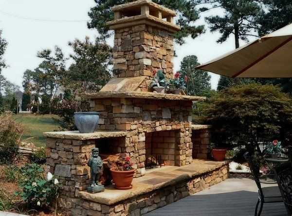Outdoor Fireplace Kits From Daco Stone