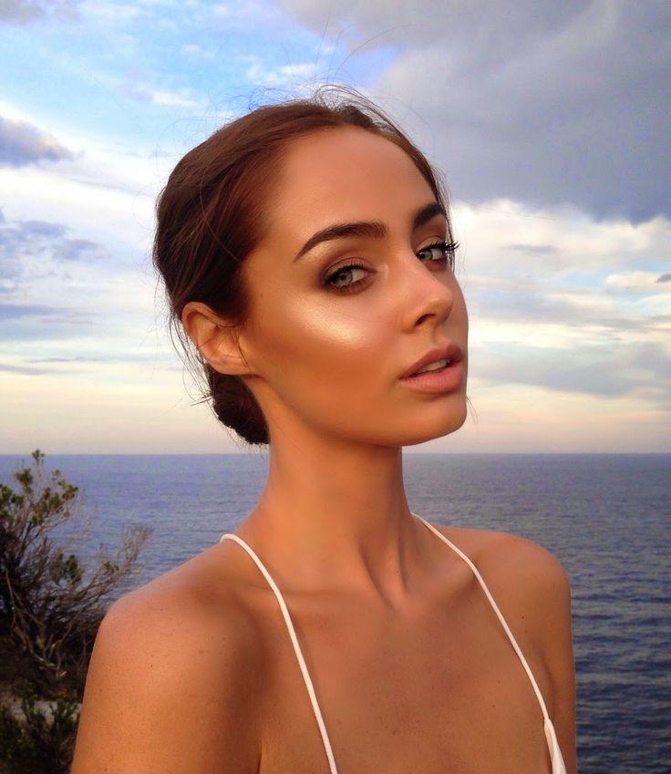 glowy, perfect makeup