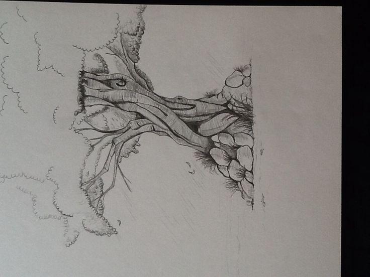 Træ tegning 3