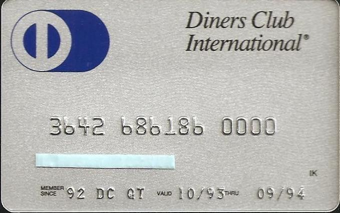 Diners Club International (Kocbank, Turecko) Col:TR-DC-005