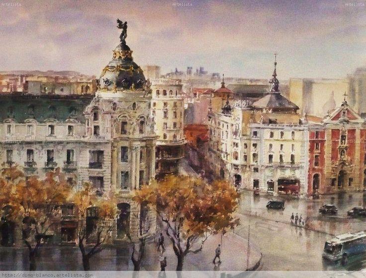Dino Blanco Vela. Calle Alcalá