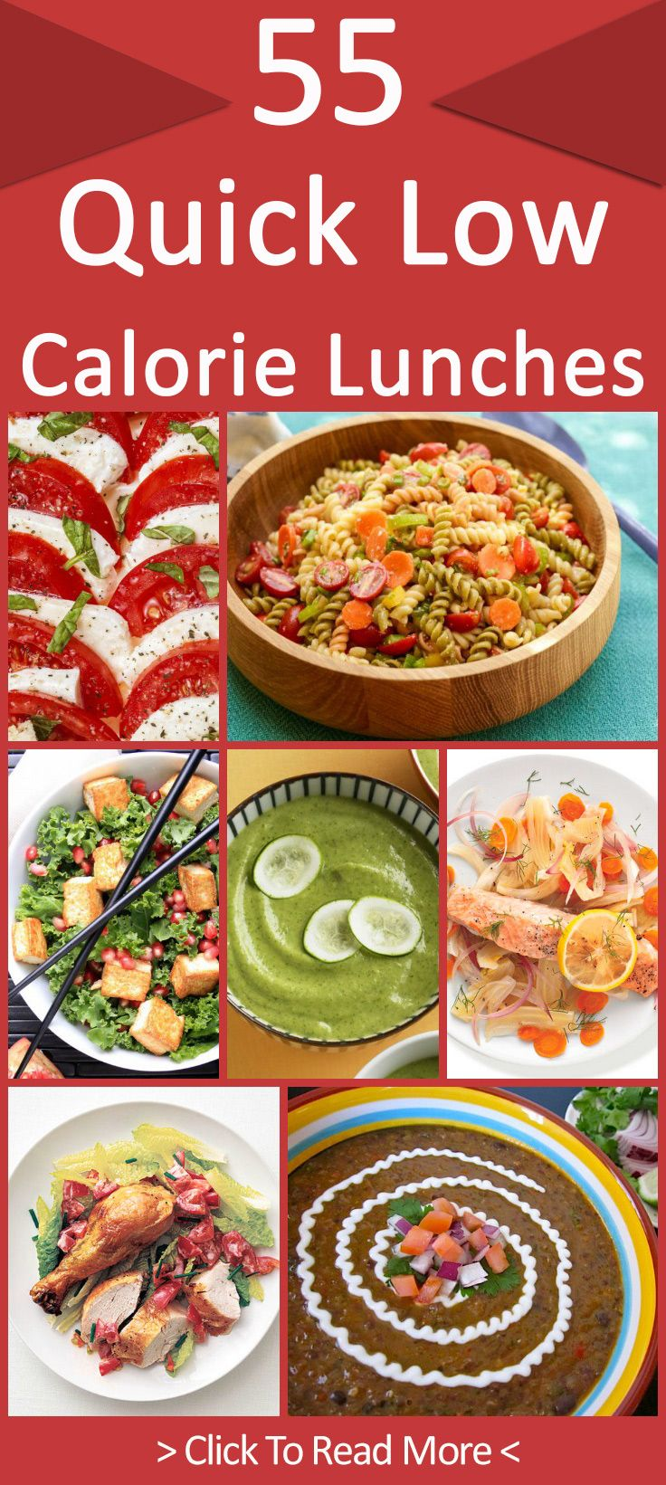 55 Quick Low Calorie Lunches That Are Yummy To Eat