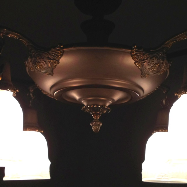 The new dining light