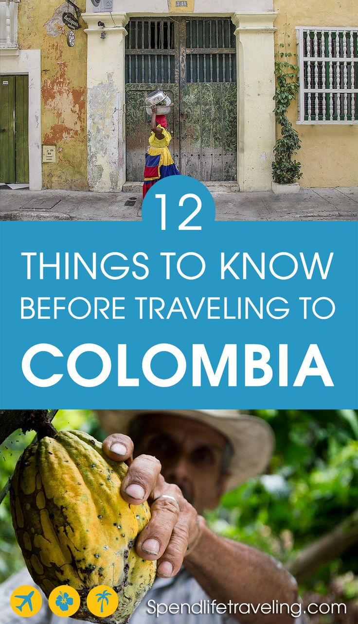 Are you thinking about traveling to Colombia? Colombia is a beautiful and very diverse country. These are some useful things to know before you travel to #Colombia. #travelColombia #travelLatinAmerica #traveltips #travelsafety #travelblog
