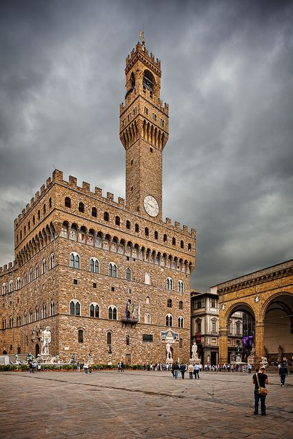 Palazzo Vecchio,  Florence  Italy Can't wait to see this next month!: