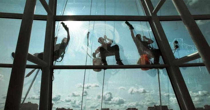 Robinson-Solutions Professional Window Cleaning: Our Guys Like To Be Challenged