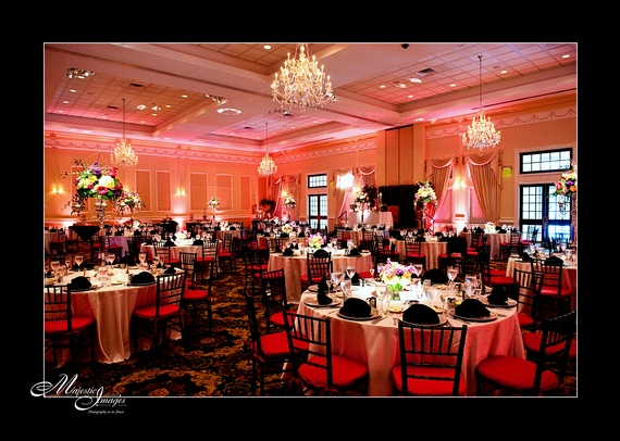25 best say i do in brandywine country images on pinterest beautiful pink and black colors in the grand ballroom at drexelbrook junglespirit Images