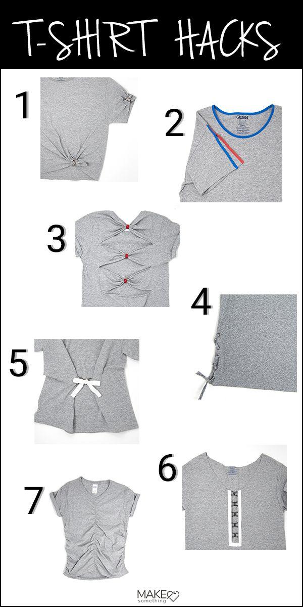 Inspiration Best Refashioned T Shirts