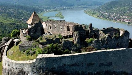 Castle of Visegrád #castle #Hungary #Danube