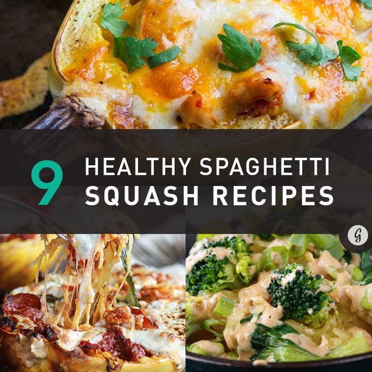 ... 9 healthy spaghetti squash recipes
