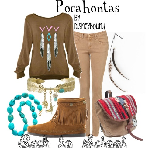 I WANT IT!!!! Pocahontas [Created by lalakay] #fashion