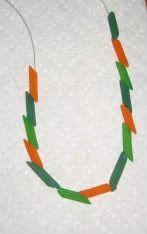 Noodle Necklace - Preschool Activity - store noodles & string in large baggie)