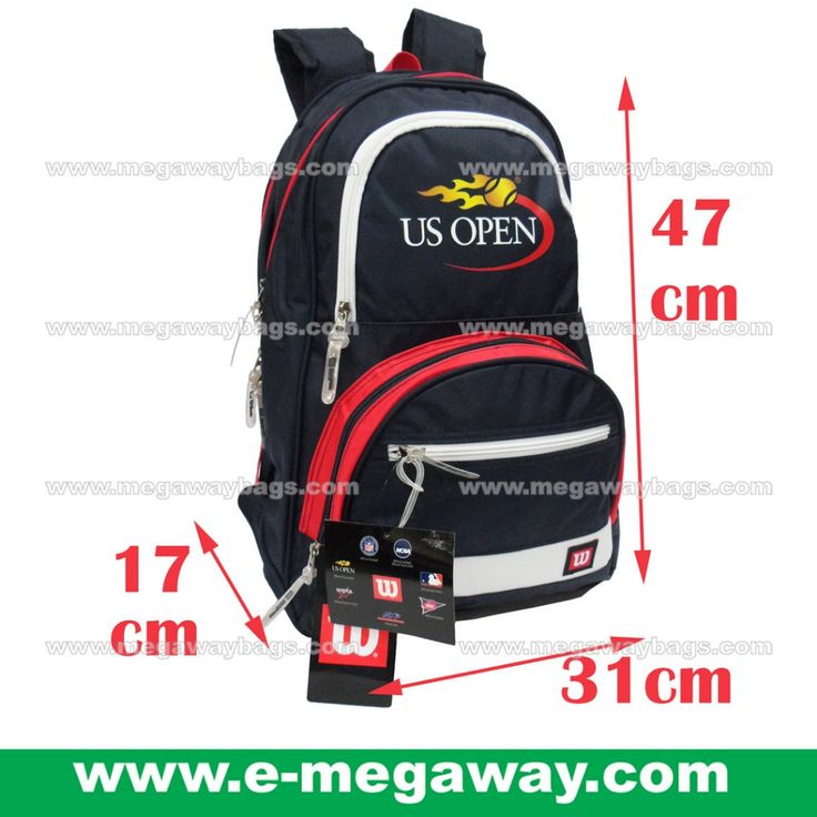 #US #OPEN #Wilson #WilsonSports #Tennis #Professional #Coach #Team #Player #Black #Racket #Squash #Badminton #Racquet #Bags #Backpack #Duffel #Megaway #MegawayBags #CC-1376, Sporting Gear, Athletic & Sports Clothing on Carousell