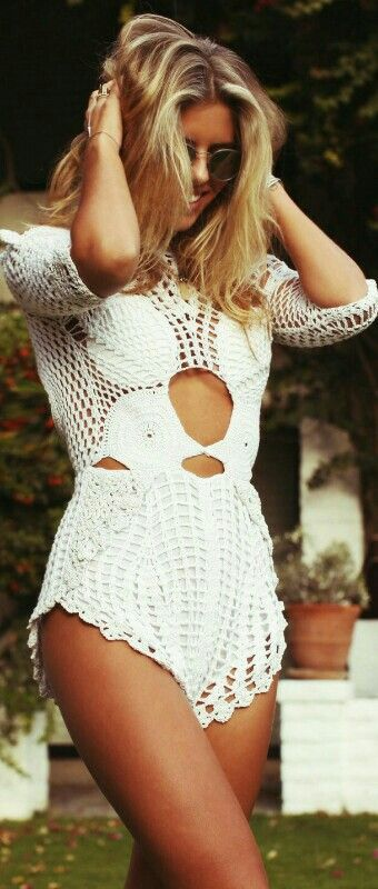 Crochet Jumpsuit by Alice McCall