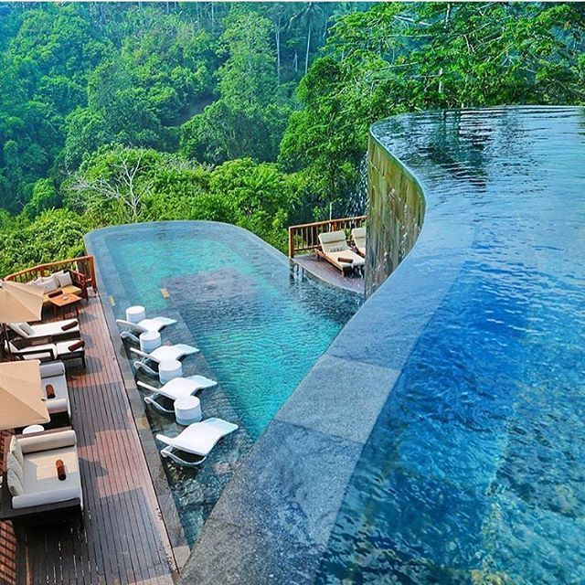 Hanging Gardens on Bali 🌴💙 Photo by: @travellersplanet  Use the #Vacations hashtag to be featured!