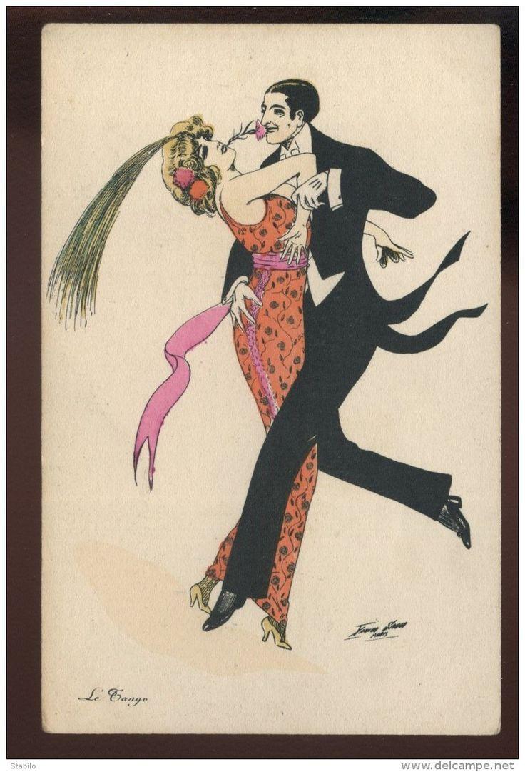 Открытка аргентинское танго