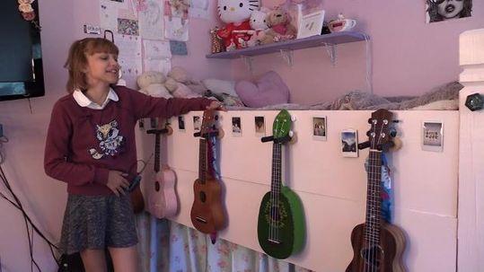 keep calm and ukulele on Grace Vanderwaal   Grace VanderWaal is in L.A. for her next 'AGT' appearance
