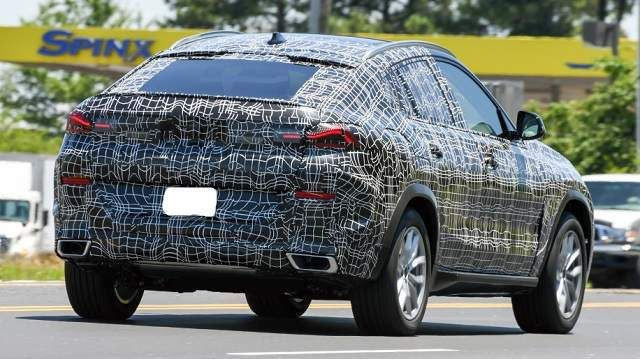 2020 Bmw X6 Spy Shots Unveil More Than We Expected Bmw X6 Bmw Concept Cars