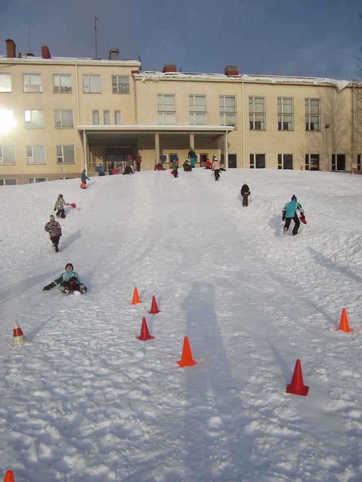 """Liukurikeilaus esim. talviurheilupäivään + kaikkea muuta kivaa """"lumipuuhaa"""""""