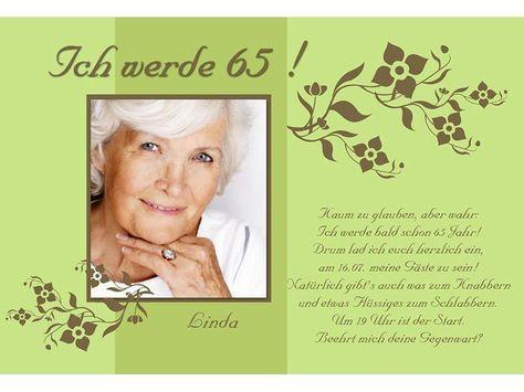 Einladung Zum Geburtstag Text Schwäbisch