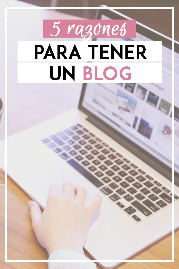 ¿Estás planeando abrir un blog? Si no estás completamente decidido, aquí te voy a compartir porqué tengo uno y porqué deberías abrir el tuyo.