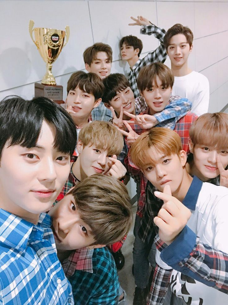 Wanna One Twitter Update | 08/30/17
