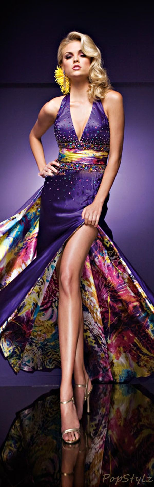 Tony Bowls Paris Halter Gown this dress is fabulous!!!;) Shelbi this looks like a candidate for one of your prom dresses