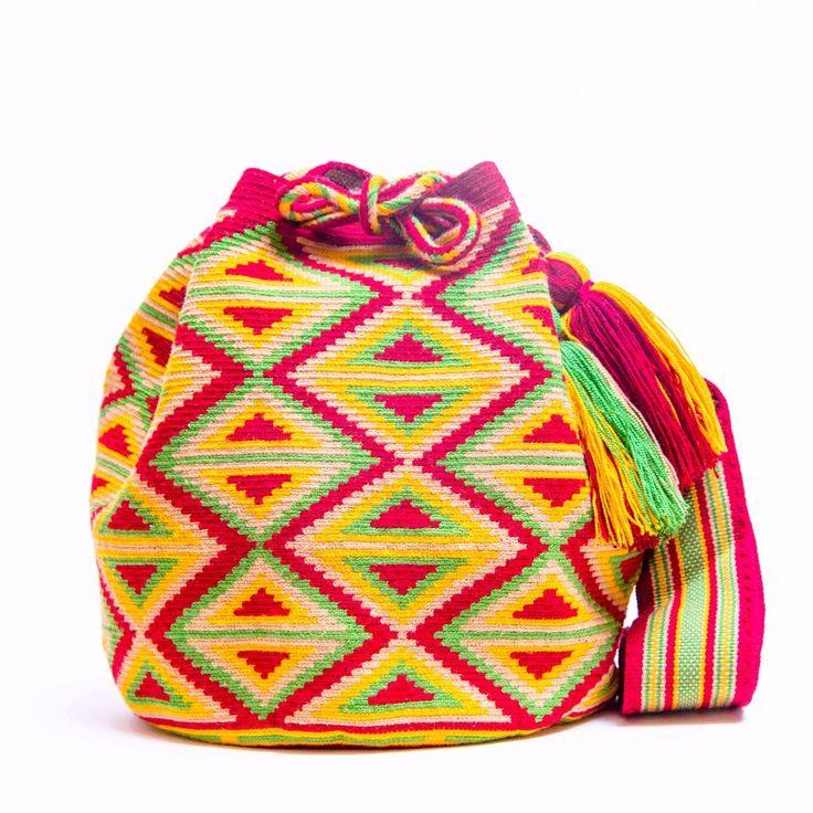 Hermosa Wayuu Bags - Woven One thread - MOCHILAS WAYUU BAGS