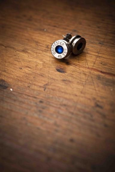 40 Caliber Bullet Earrings | Artifacts N Relics | Bourbon & Boots