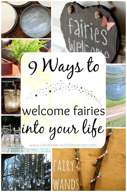 9 ways to invite fairies into your life at www.sarahpetrunoshamanism.com