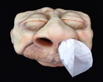 Artist Jenn Dott - polymer clay tissue box