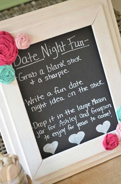 Date Night Wedding Shower Gift : In a date night rut? Download my Date Night printable for some new ...