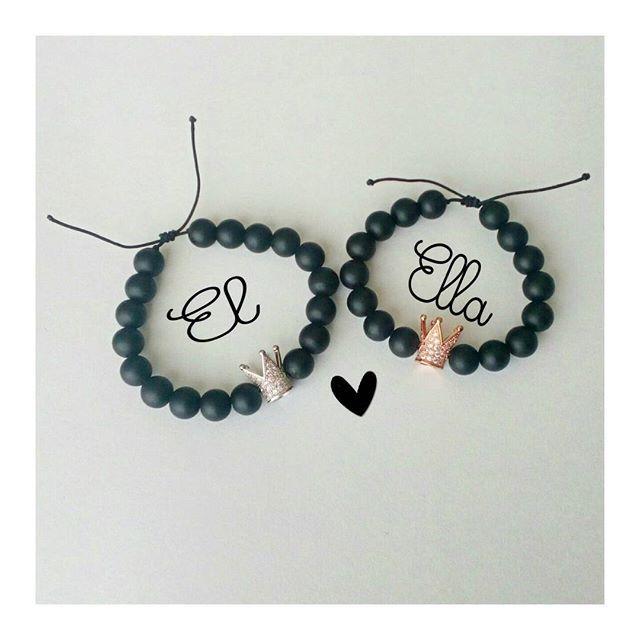 296936eabf2b Pin de ada en regalos   Collares de parejas, Pulseras para novios y ...
