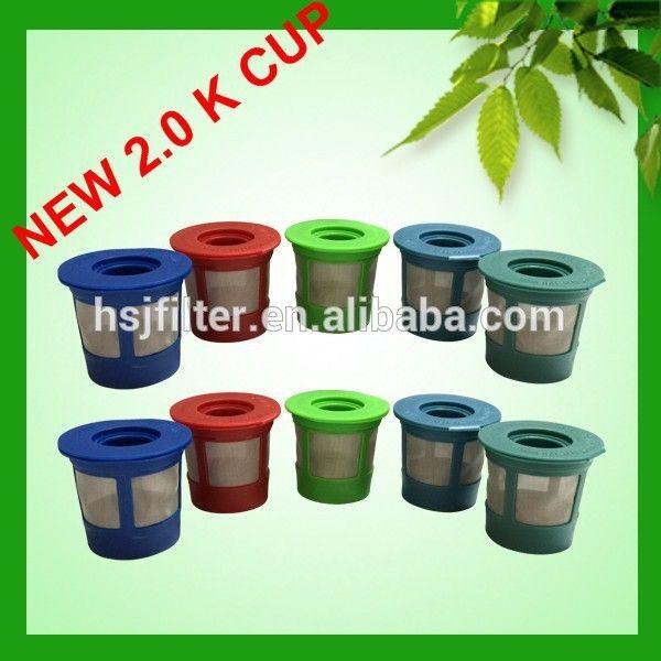 2015 new reusable k cup filter for keurig B30 B40 B45 B50 B60 B70 B79 K10 K45 KG5 KG5 and *2.0